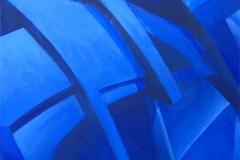 "2006 - ""Impur T ? "" Acrylique sur toile encollée sur isorel - 74,5 x 49,6 cm. Acrylic on canvas bonded on masonite - 29,3 x 19,5 in. Adagp © Vida."
